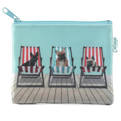 Deckchair Dogs Coin Purse