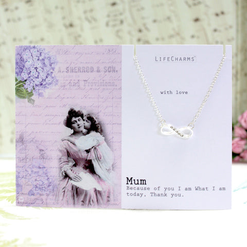Mum Infinity Necklace