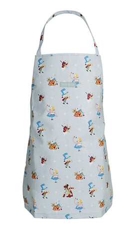 Kids Oilcloth Apron - Alice in Wonderland