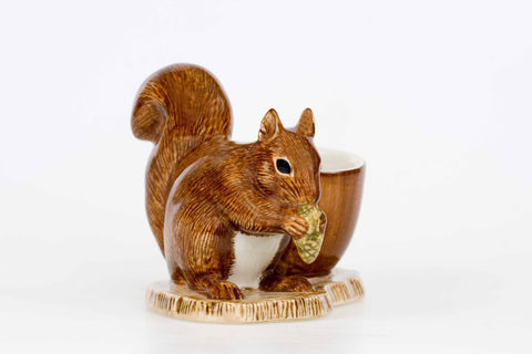 Squirrel with Egg Cup
