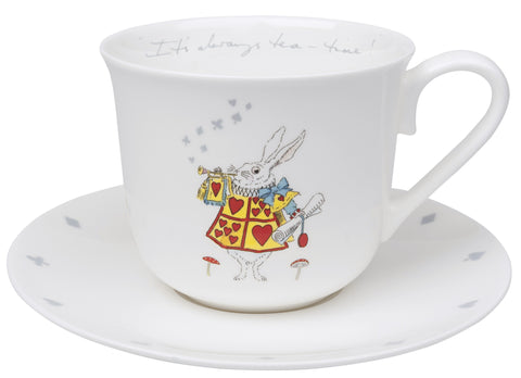 Teacup and Saucer - Alice in Wonderland