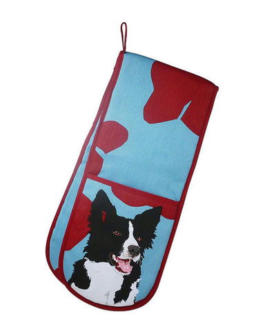 Collie Oven Gloves