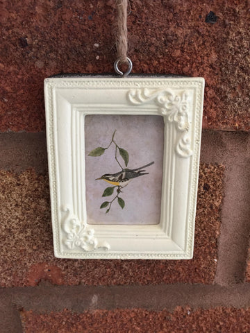 Cream Mini Hanging Photo Frame - Rectangle
