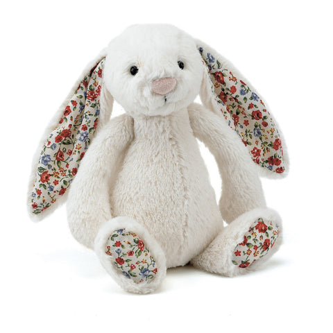 Bashful Blossom Cream Bunny - Small