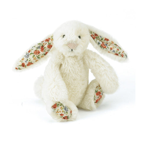 Bashful Blossom Cream Bunny - Tiny