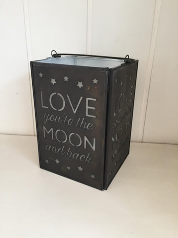 Love You to the Moon and Back Tealight Holder