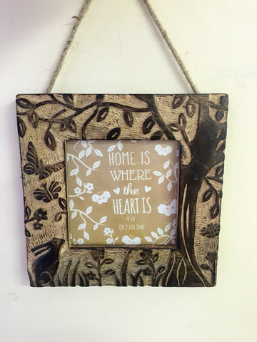 Tangled Wood Hanging Frame
