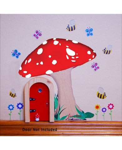 Fairy Door Sticker Set