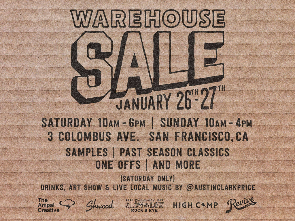 Warehouse Sale @ Iron & Resin San Francisco