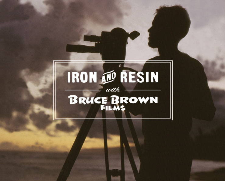 Iron & Resin X Bruce Brown Films Limited Edition Collection