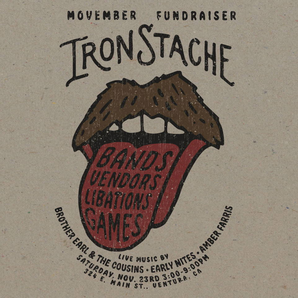 IronStache @ The Ventura Garage For Movember