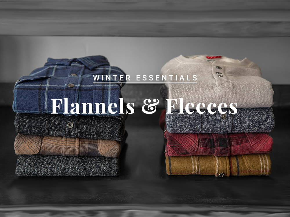 Winter Essentials: Flannels & Fleeces
