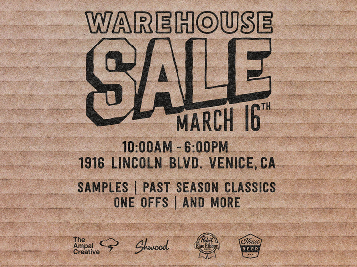 Iron & Resin Warehouse Sale @ Venice Store