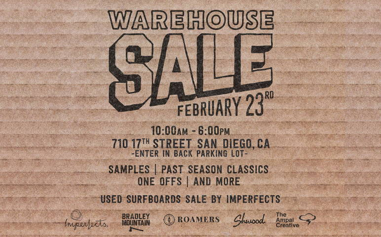 Iron & Resin Warehouse Sale in San Diego