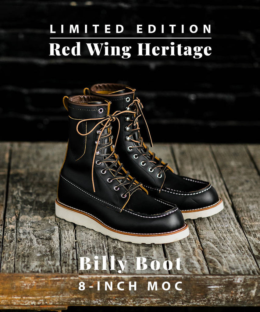 Limited Release: The Red Wing Heritage Billy Boot!