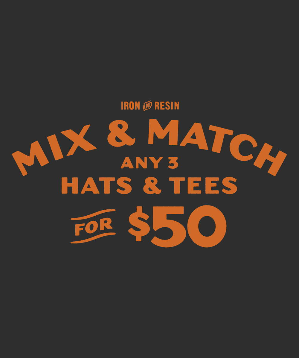 The Mix & Match Is Back: Get 3 For $50 For A Limited Time