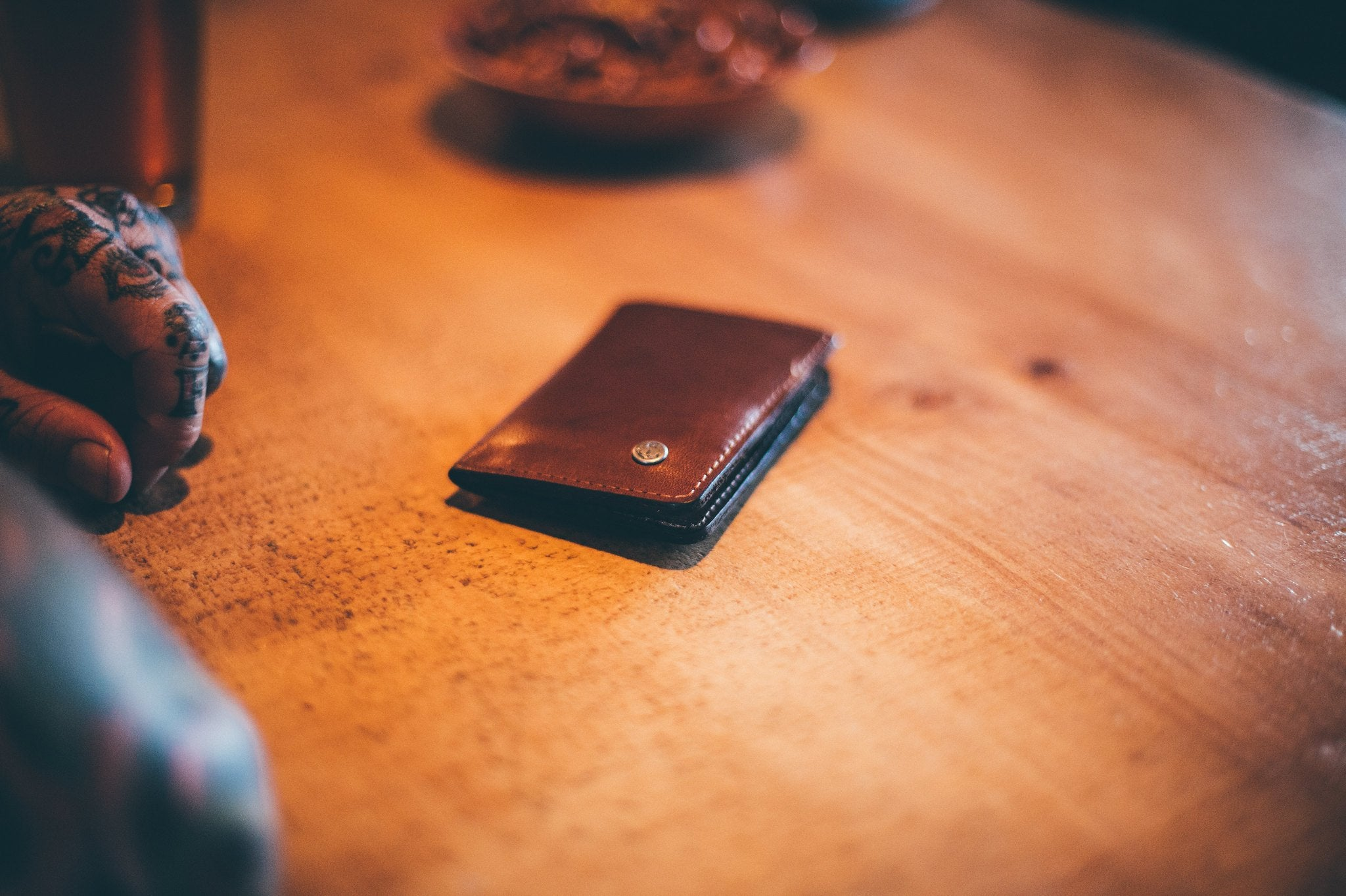 Iron & Resin Leather Goods Online Collection Wallets and Keychains