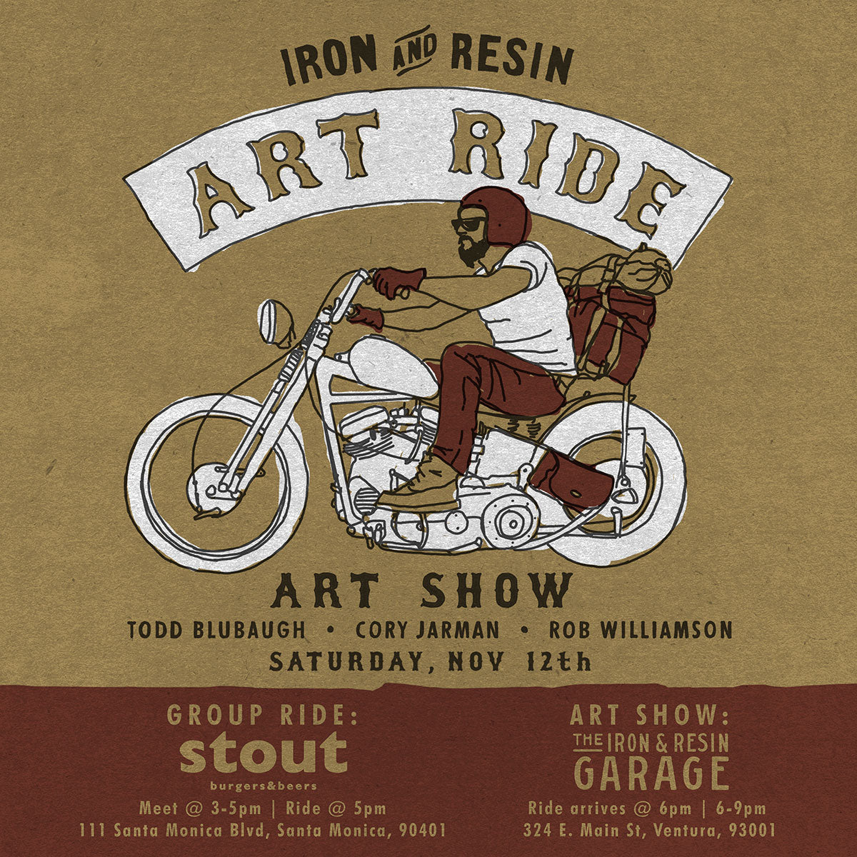 Iron & Resin Art Ride