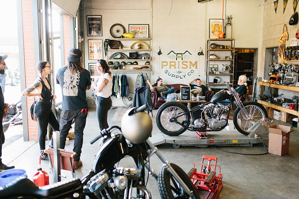 prism supply congregation vintage motorcycle show