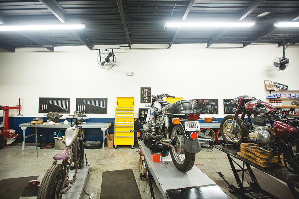 Garage envy brother moto iron and resin brother moto is a community based do it yourself diy garage espresso bar and motorcycle lifestyle goods shop in atlanta ga solutioingenieria Choice Image
