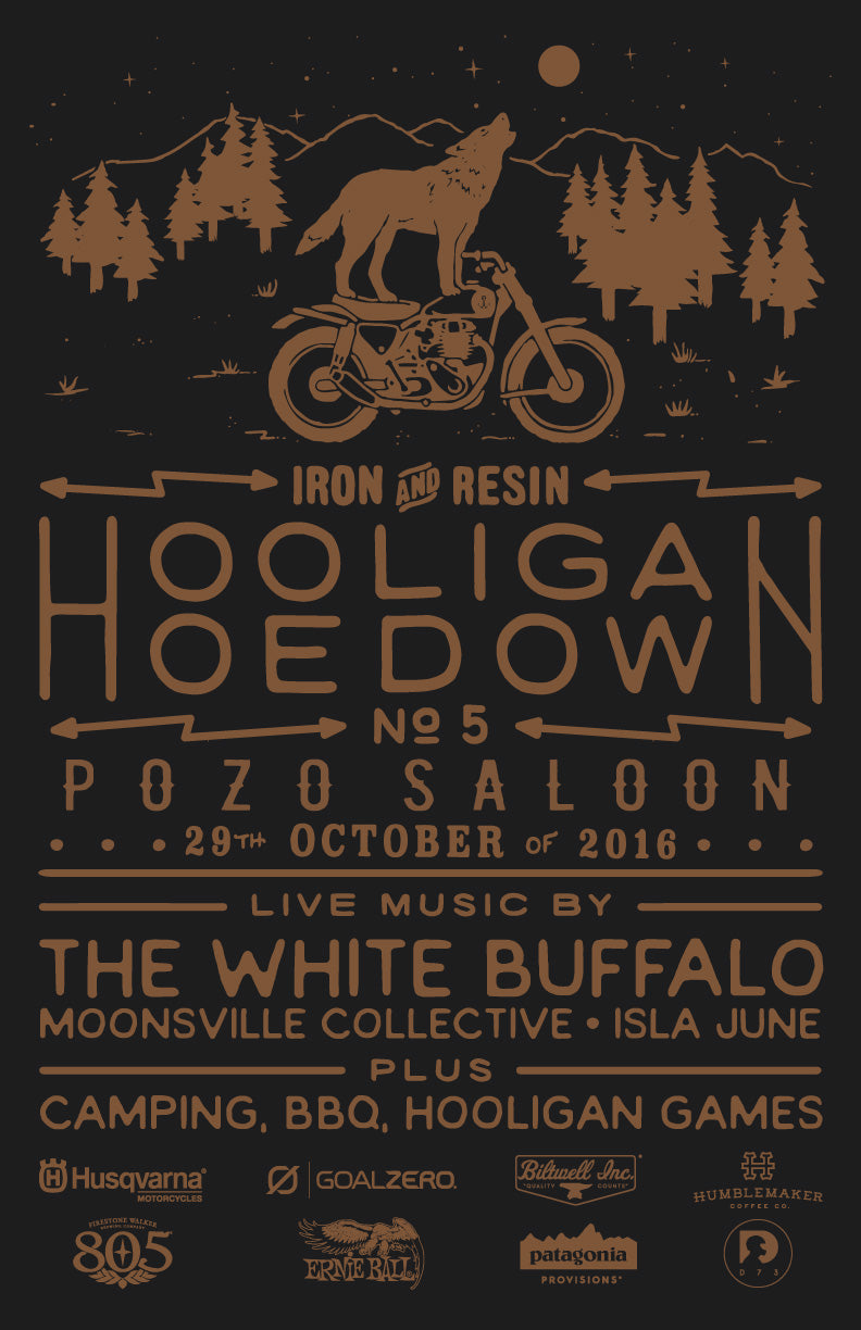 Hooligan Hoedown V Iron & Resin