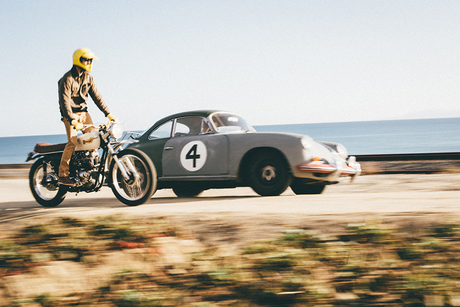 1963 Porsche coupe vs triumph