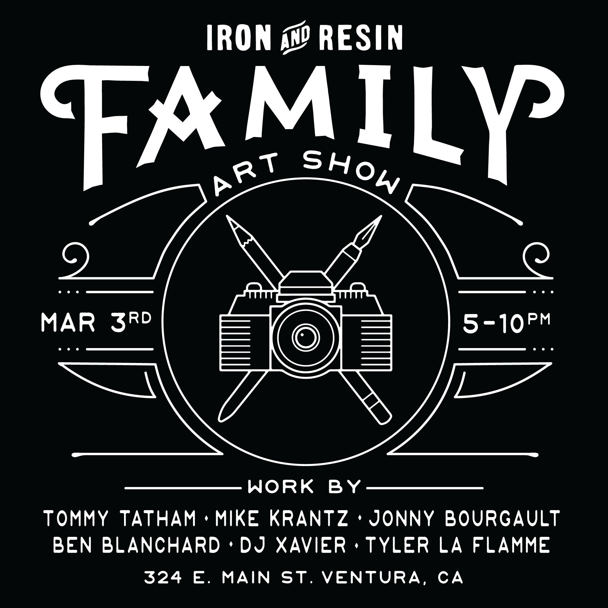 Iron & ResinFamily Art Show