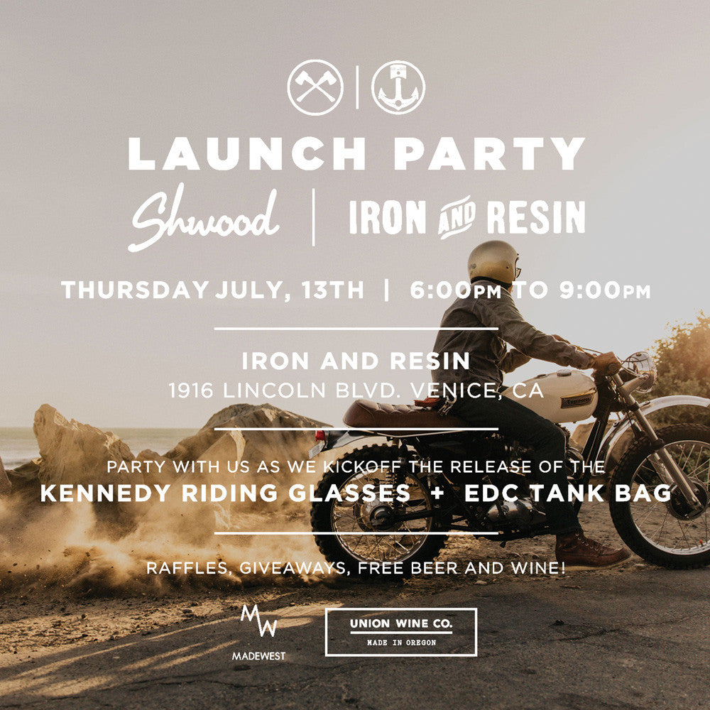 Shwood x Iron & Resin Launch Party