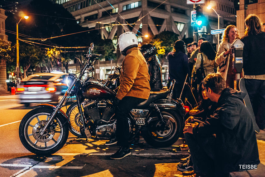 san francisco motorcycle photography