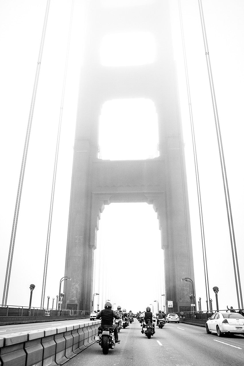 san francisco motorcycle golden gate iron and resin