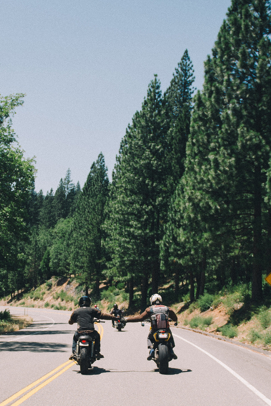 sierra stakeout biltwell motorcycles camping