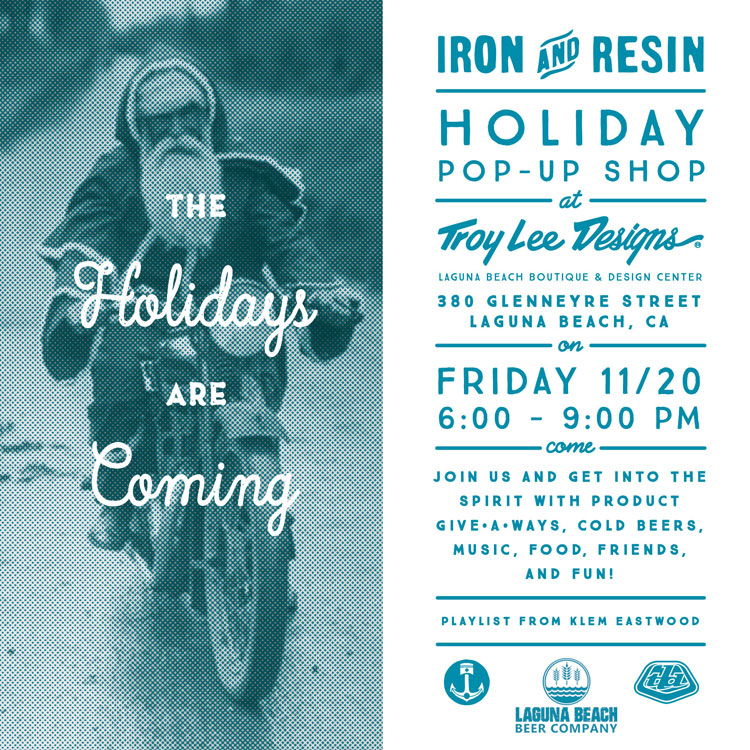 Troy Lee and Iron & Resin Pop Up