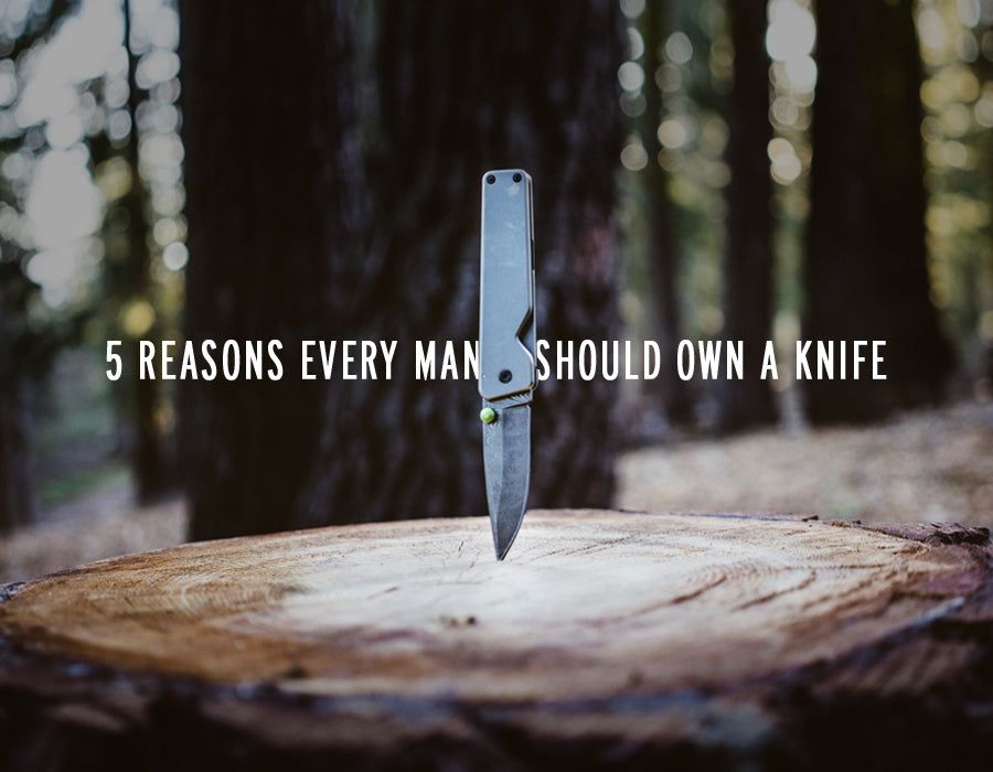 5 reasons to own a knife