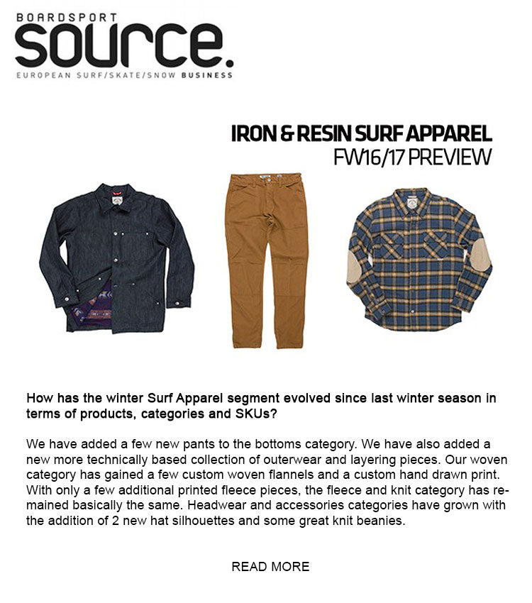 Boardsport Source Iron & Resin