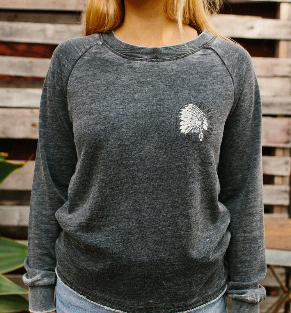 Womens Sawgawsto Fleece - Tops - Iron and Resin