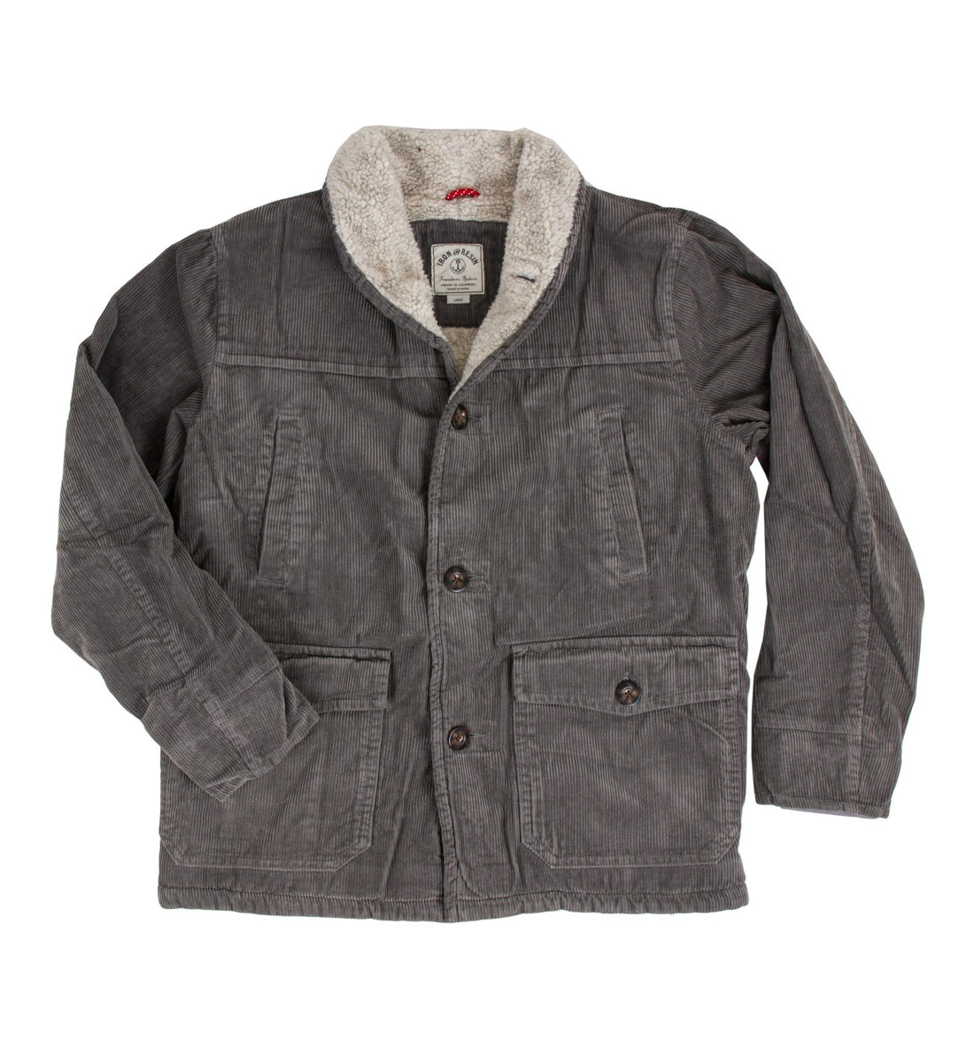 open road coat iron and resin