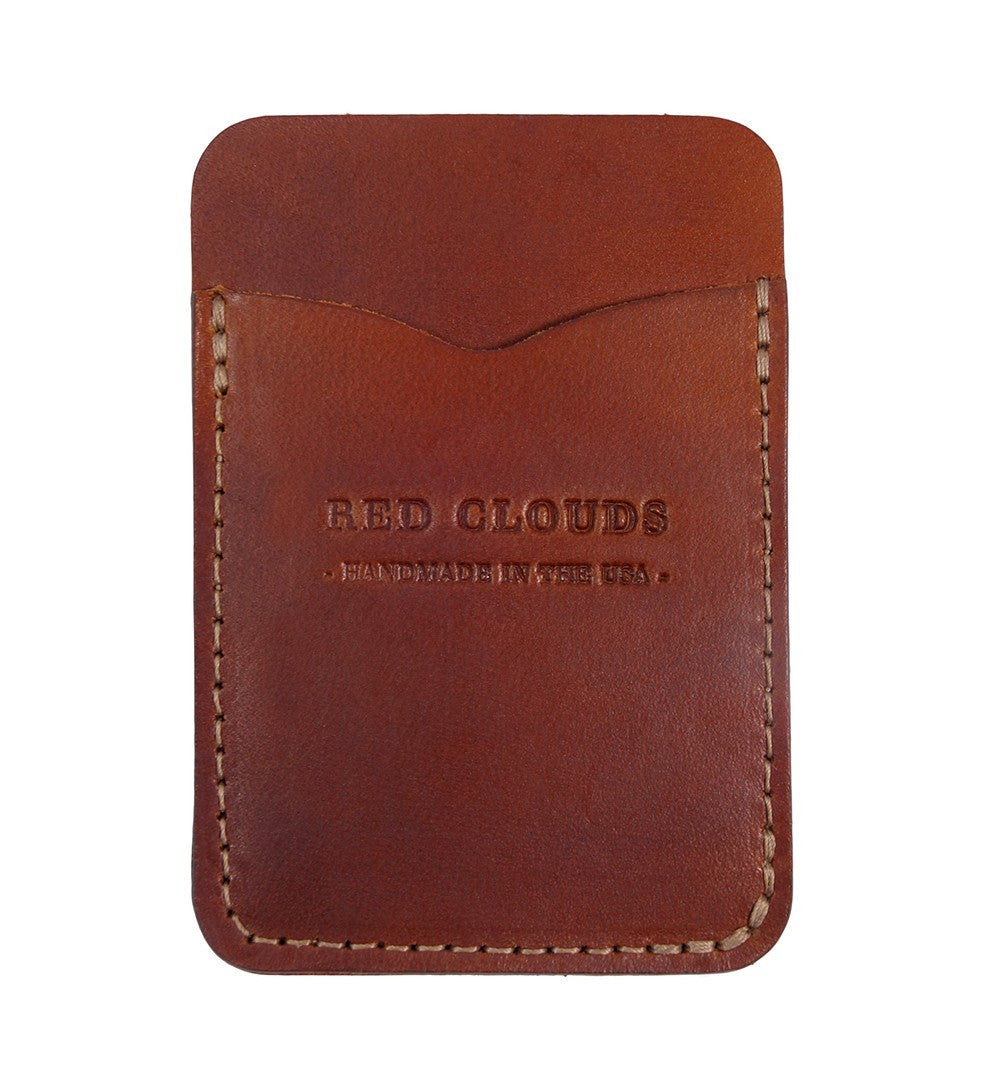 Red Clouds Collective Frontside Vertical Wallet - Accessories: Wallets - Iron and Resin