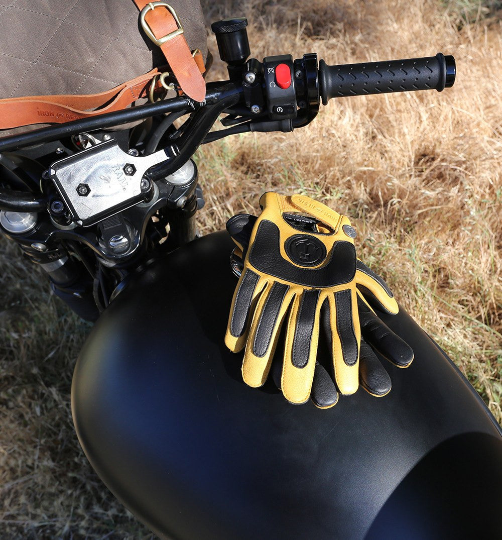 elsinore glove - Moto: Gloves - Iron and Resin