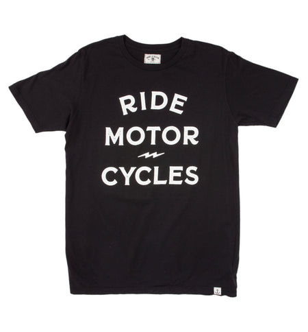 Ride Motorcycles Tee - Tops - Iron and Resin