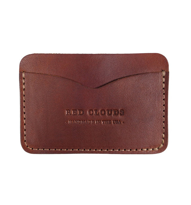 Red Clouds Collective Fronside Horizontal Wallet - Accessories: Wallets - Iron and Resin