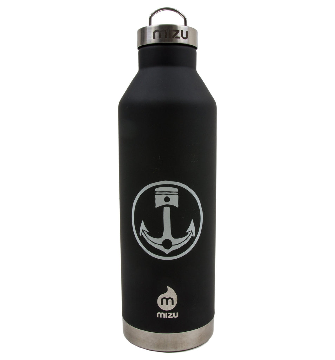 INR x Mizu V8, Soft Touch Black - Houseware: Thermos - Iron and Resin
