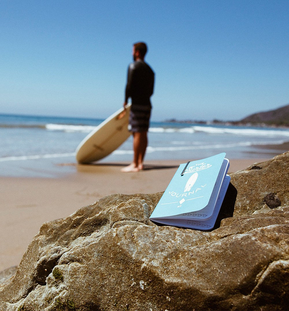 Word x InR Surf Journal - Outdoor Living/Travel - Iron and Resin
