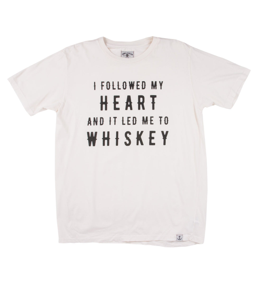 Whiskey Heart Tee - Tops - Iron and Resin