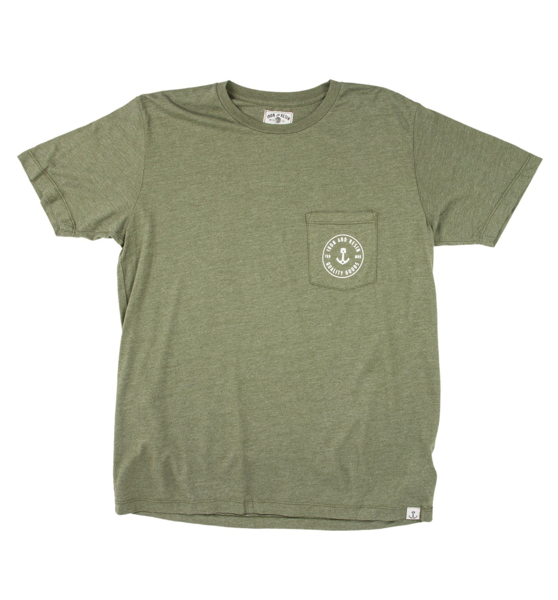 Woodland Pocket Tee - Tops - Iron and Resin