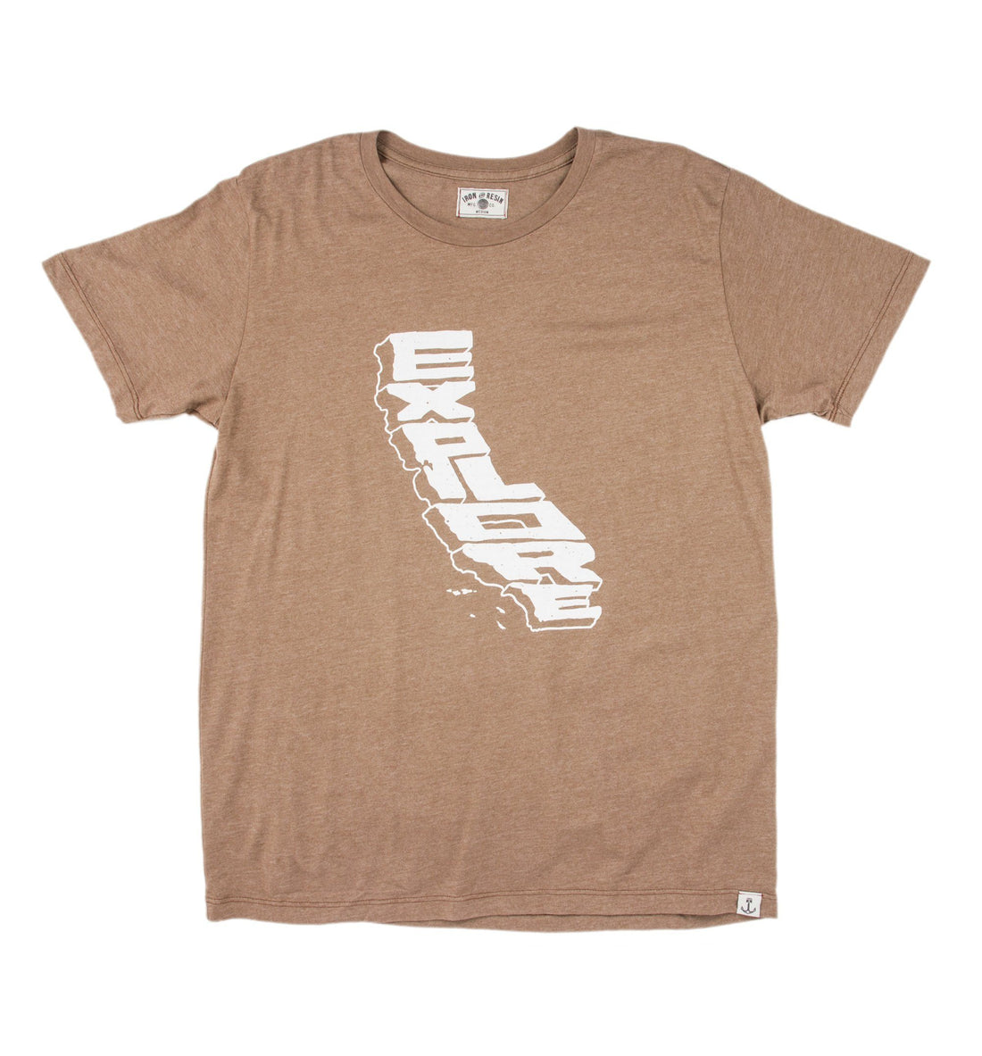 Explore California Tee - Tops - Iron and Resin