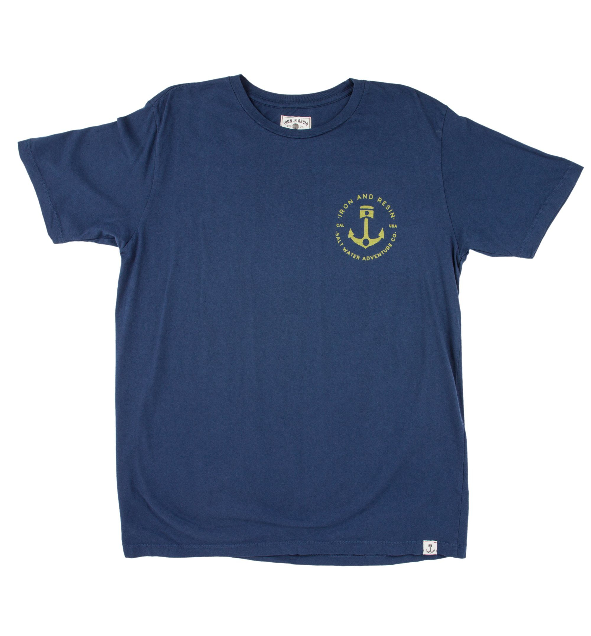Salt Water Adventure Co Tee - Tops - Iron and Resin