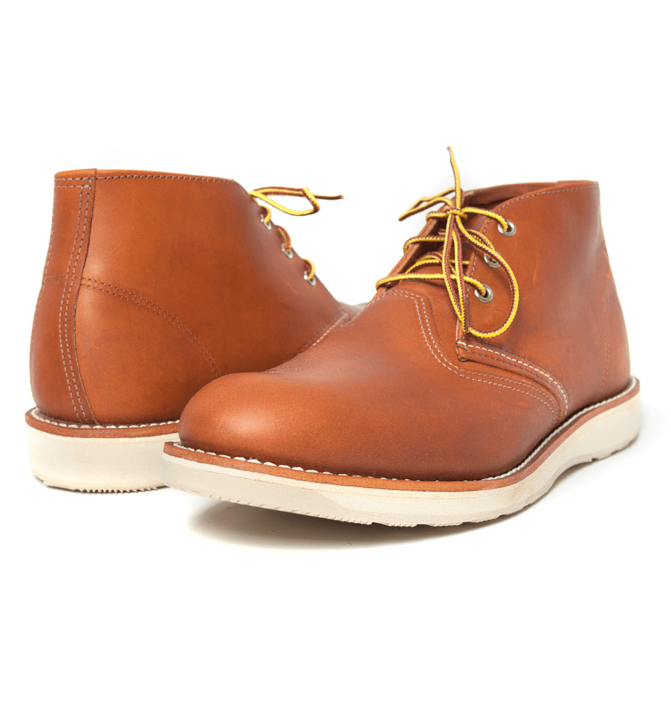 RED WING WORK CHUKKA - Shoes: Men's: Boots - Iron and Resin