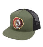 Cherokee Hat - Accessories: Headwear: Men's - Iron and Resin