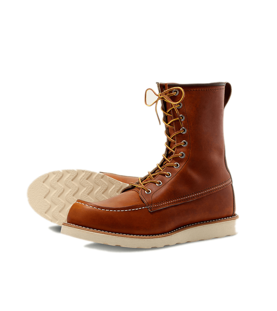 Red Wing 8-Inch Moc - Shoes: Men's: Boots - Iron and Resin