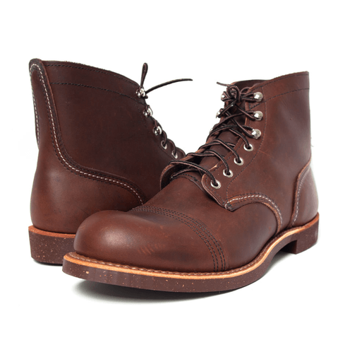 RED WING IRON RANGER - Boots - Iron and Resin